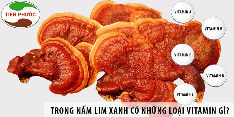 Trong Nấm Lim Xanh Có Những Loại Vitamin Gì?