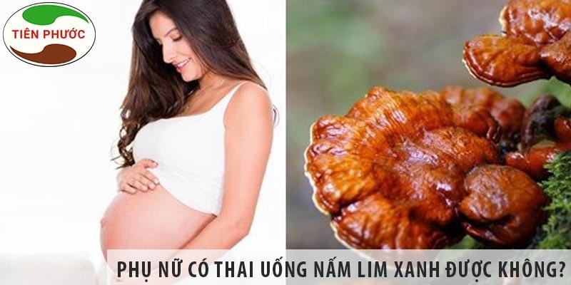 Phụ Nữ Có Thai Uống Nấm Lim Xanh được Không?