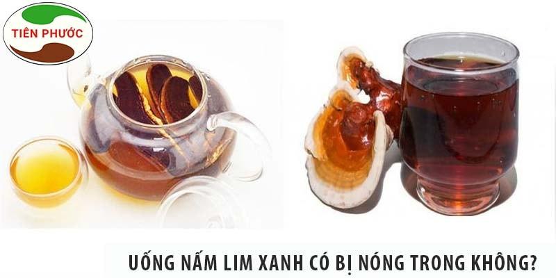 Uống Nấm Lim Xanh Có Bị Nóng Trong Không?